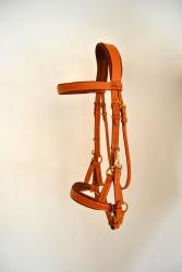 Bridon Side Pull sur-mesure Jollet Atelier sellerie équestre