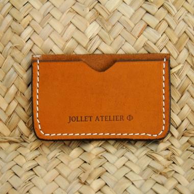 Porte carte simple Jollet Atelier maroquinerie 6