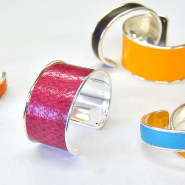 Bracelet cuir Bijoux Jollet Atelier 3