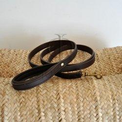 laisse collier chien cuir Jollet atelier sur-mesure maroquinerie