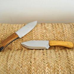 Couteau modèle mountain Jollet Atelier coutellerie